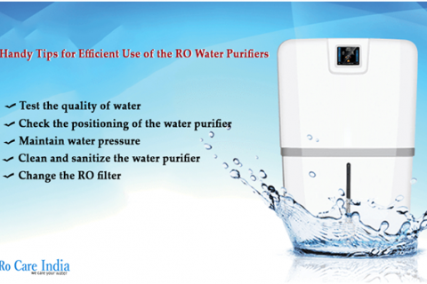 Handy Tips for Efficient Use of the RO Water Purifiers